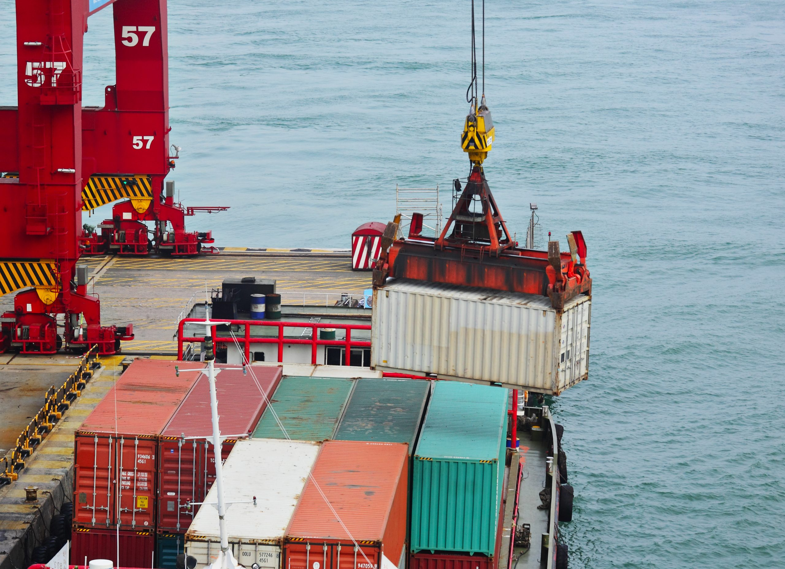 Logistics Company in Klang Malaysia container cargo operation