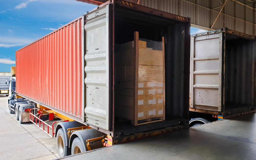 Logistics Company in Klang Malaysia truck trailer container