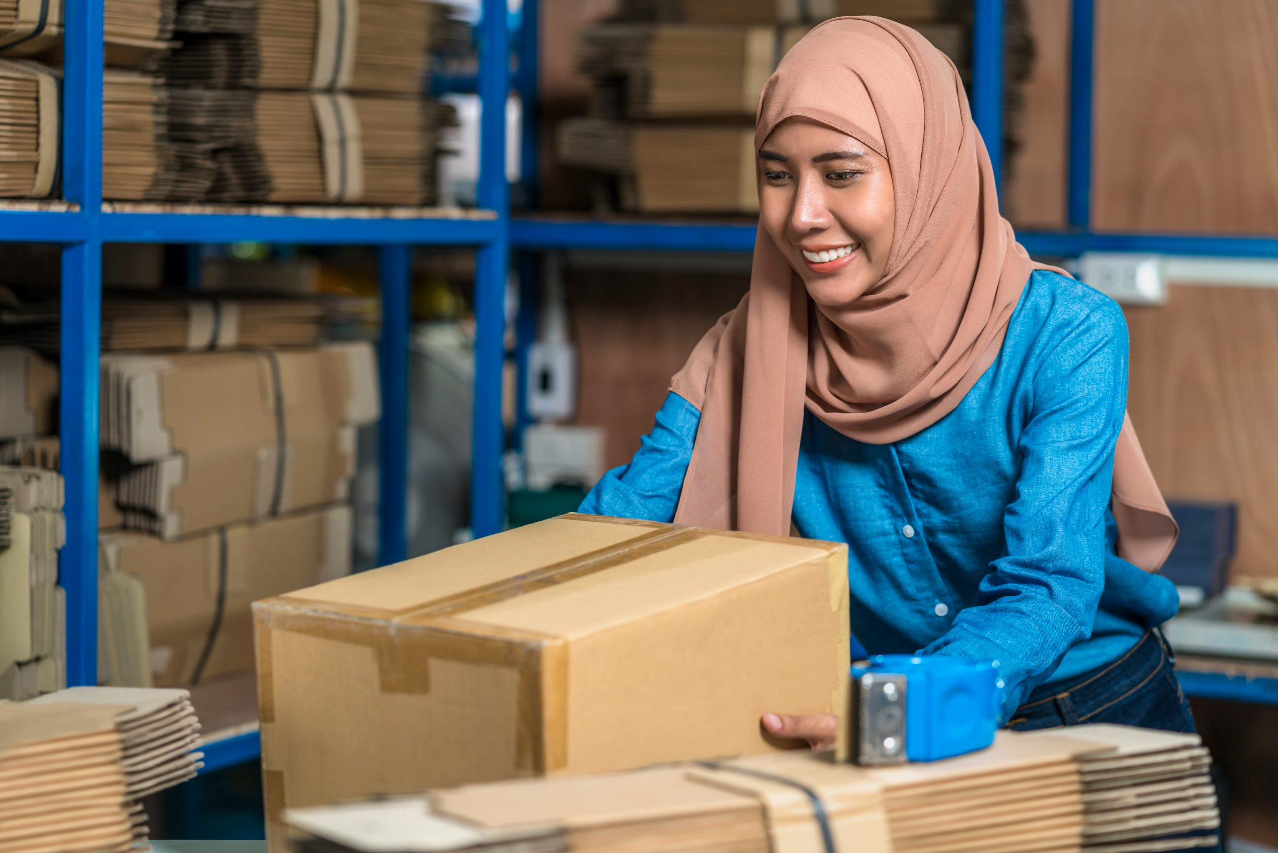 Logistics Company in Klang Malaysia packing services