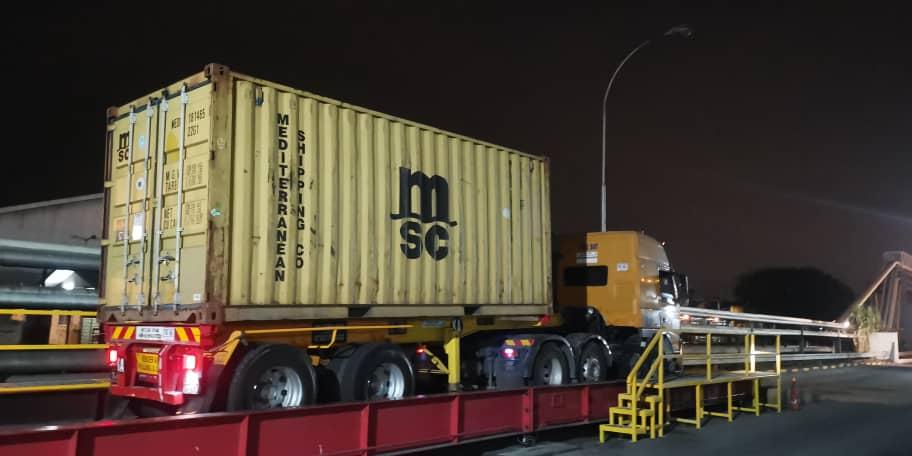 Logistics Company in Klang Malaysia lorry