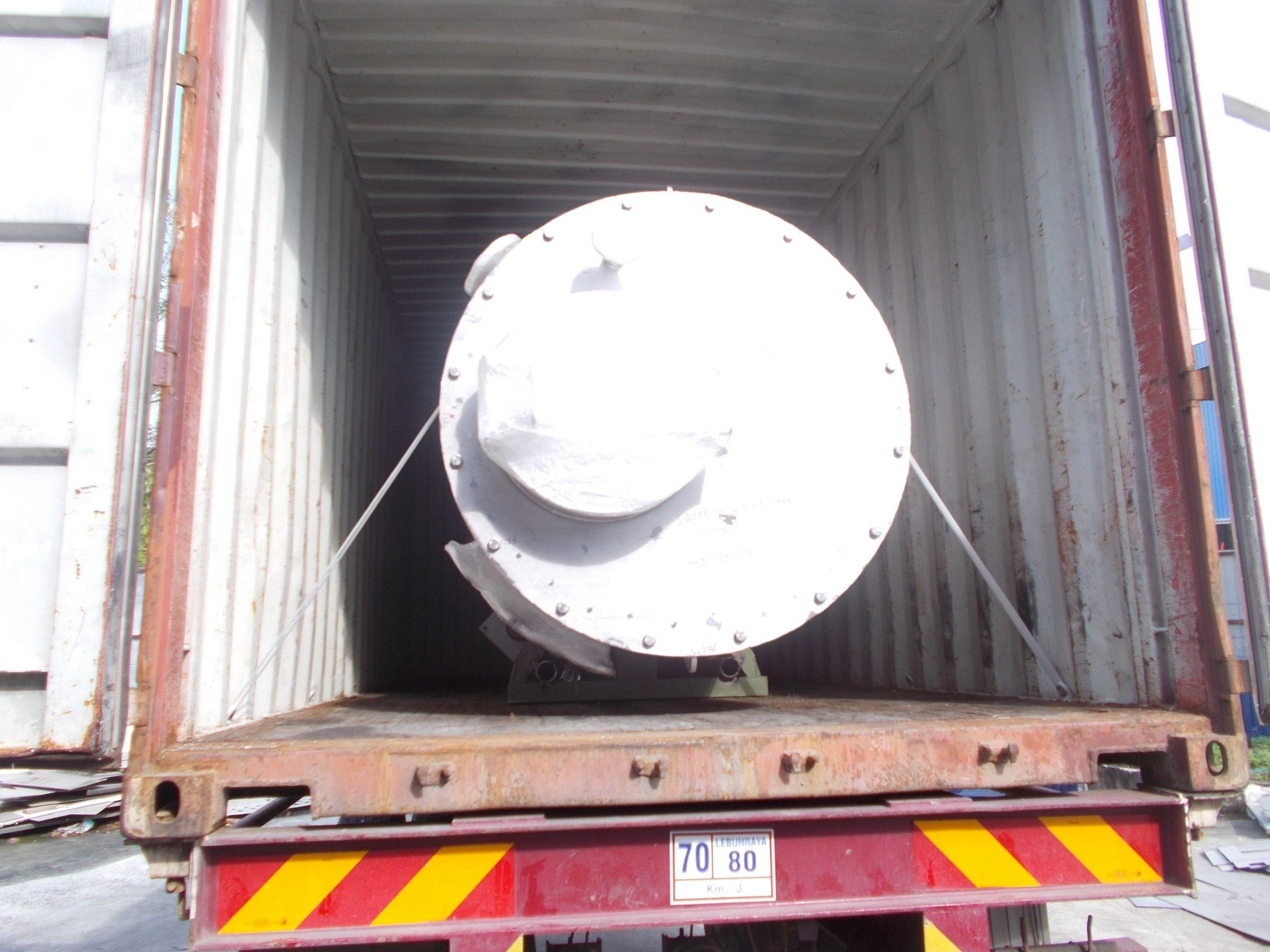 Logistics Company in Klang Malaysia refinery equipment