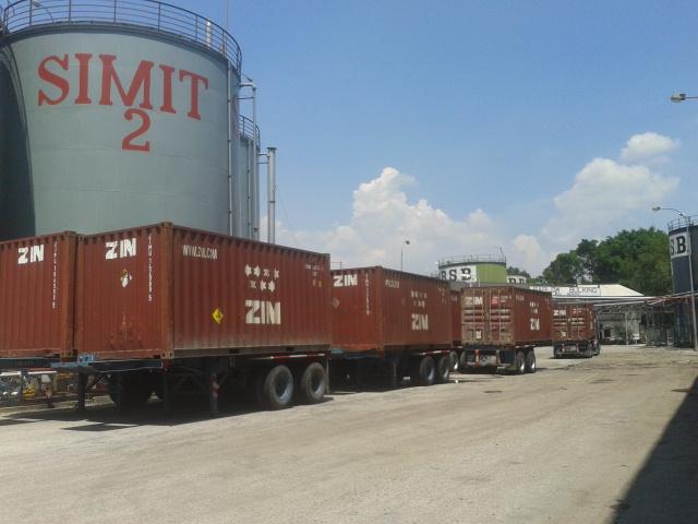 Logistics Company in Klang Malaysia Sime Darby Flexitank